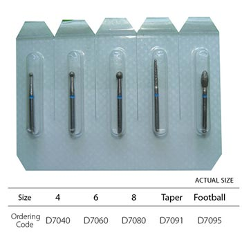 Diamond Bur Set FG - 5pc