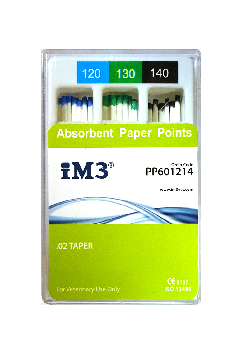 Paper Points - 60mm - ISO 120-140 - 60pcs