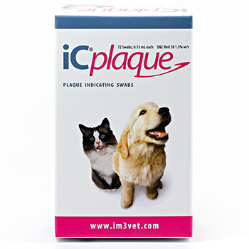 iC Plaque - plaque disclosing solution - 72 swabs
