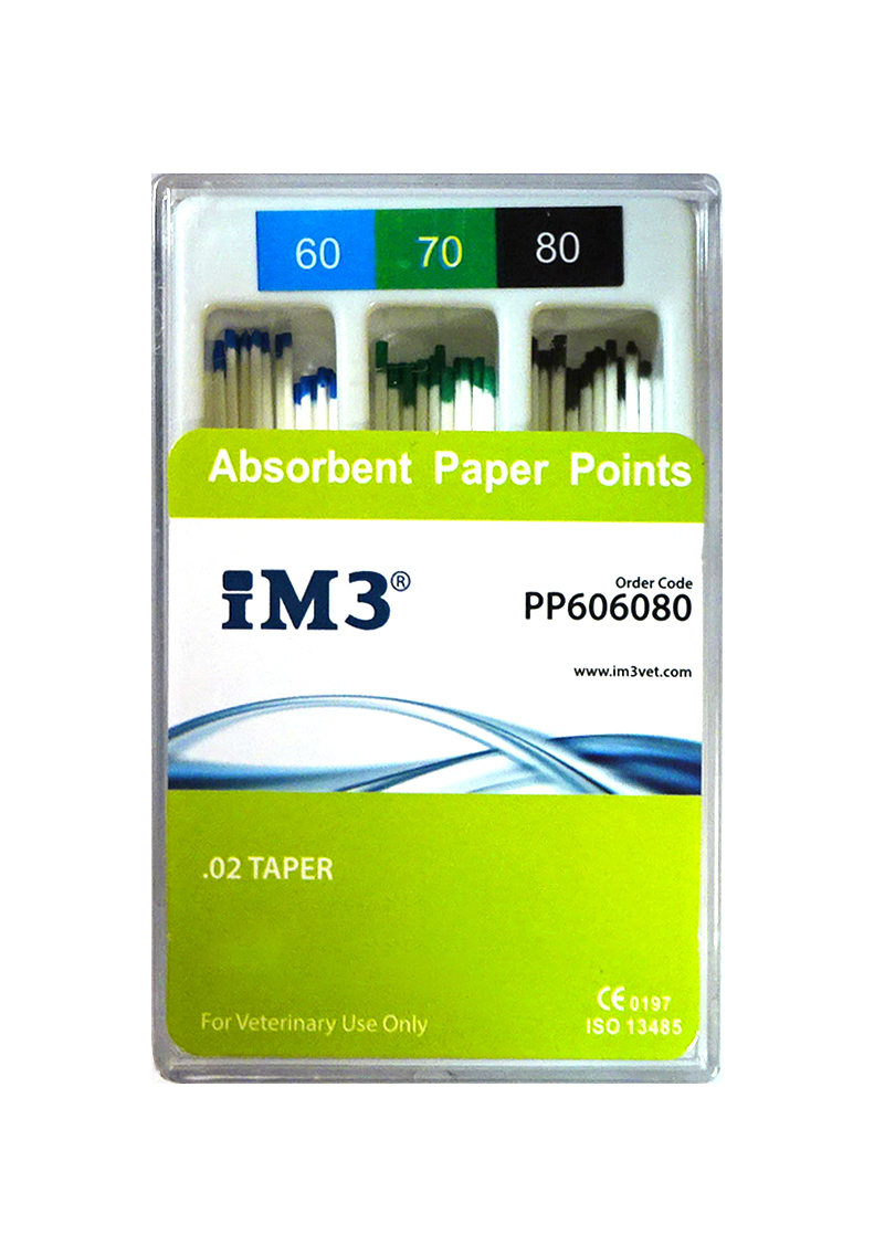 Paper Points - 60mm - ISO 60-80 - 60pcs