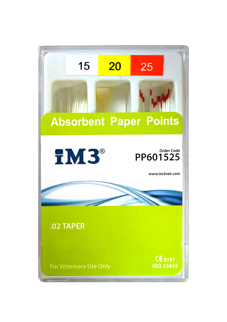 Paper Points - 60mm - ISO 15-25 - 60pcs