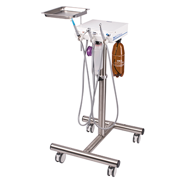 iM3 GS Deluxe dental unit with S/S stand (no compressor)