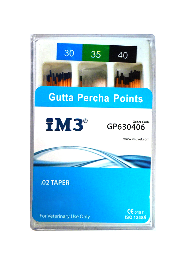 Gutta Percha Points - 60mm - ISO 30-40 - 60pcs