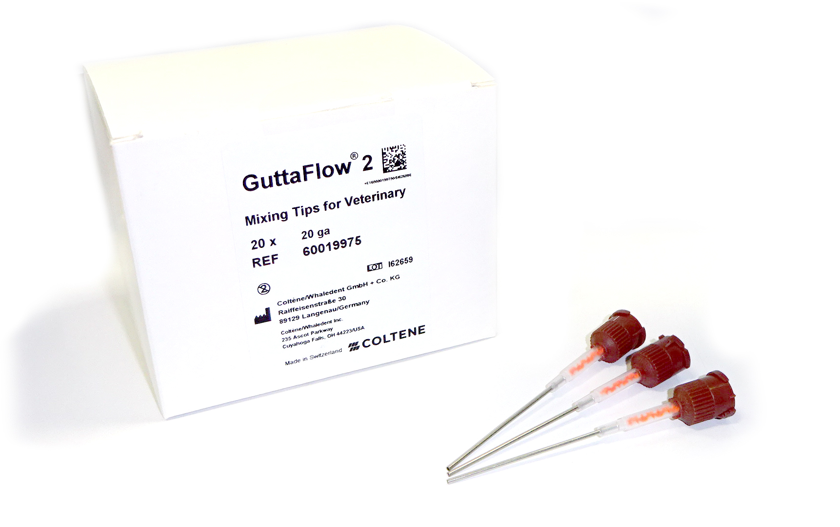 Roeko GuttaFlow 2 Veterinary 17ga  Mixing Tips (20pcs)
